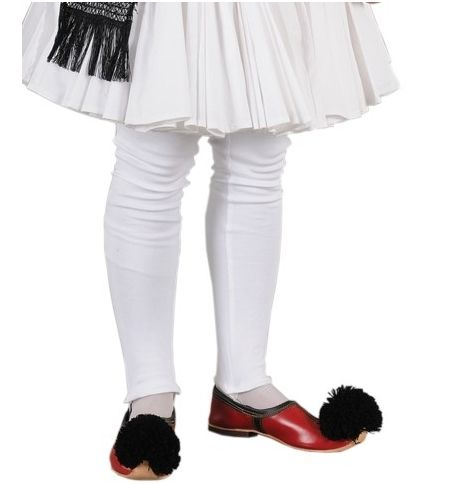 Περισκελίδα Τσολιά Κολάν με λάστιχο MARK757 Αξεσουάρ Παραδοσιακής Στολής