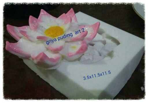 Silikon lotus by griya puding art 2