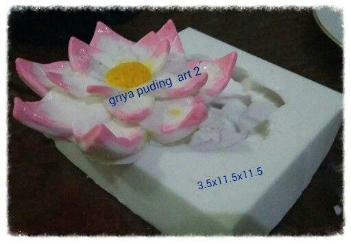 Silikon lotus by griya puding art 2