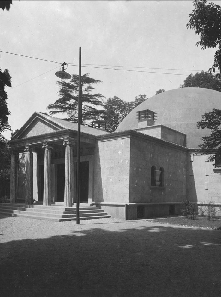 Planetario Ulrico Hepli , Piero Portaluppi, Milano