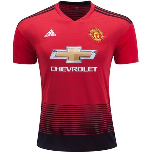 f31e44caab7 adidas Kids Manchester United 18/19 Home Jersey Real Red/Black ...