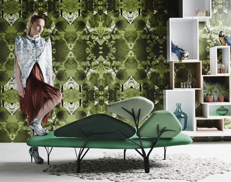 Trend: Into the Wild sofa @Michelle LaChance Spencer