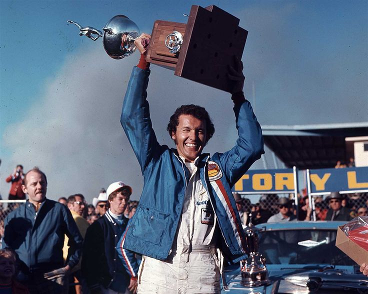 Win No. 120  Date: Feb. 14, 1971  Race: Daytona 500  Track: Daytona International Speedway, 2.5-mile asphalt track.  Notable: Petty led 69 of 200 laps for his third 500 crown, aided by handling issues for runner-up Buddy Baker and a lengthy pit stop for out-of-gas A.J. Foyt, who finished third.