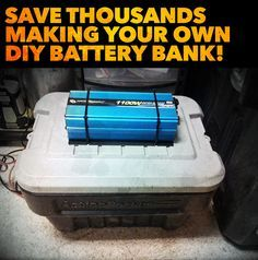 Save THOUSANDS of dollars building your own DIY backup battery bank system for solar, wind, hydroelectric and more! Perfect for power outages and off grid living! These videos show you everything you need to know to build a high quality battery bank that will take care of your backup power needs for years! Learn to build one yourself and save hundreds if not thousands doing it yourself!