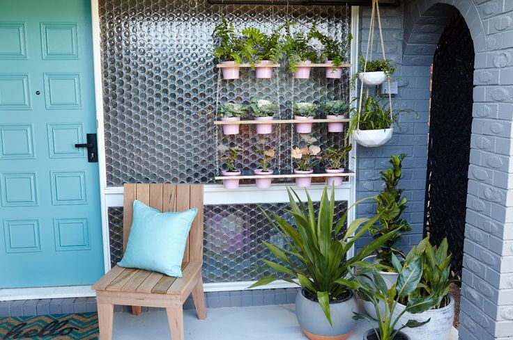 We'll show you how to make this hanging pot garden #garden #ideas #landscaping
