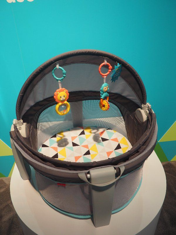 Naptime or playtime, this sweet baby dome ($70) can go anywhere. The SPF-20 canopy provides sun shade and h...