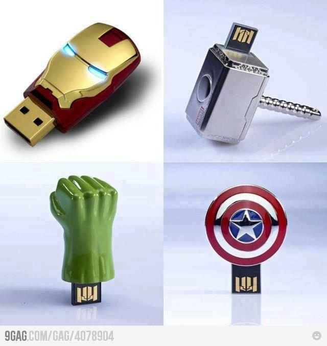 These are awesome!Eyeshadows Lipsticks, Eyebrows Lashes, Avengers Usb, Usb Flash Drive, Awesome Flashdrive, Random Stuff, Awesome Things, Lipsticks Gloss, The Avengers
