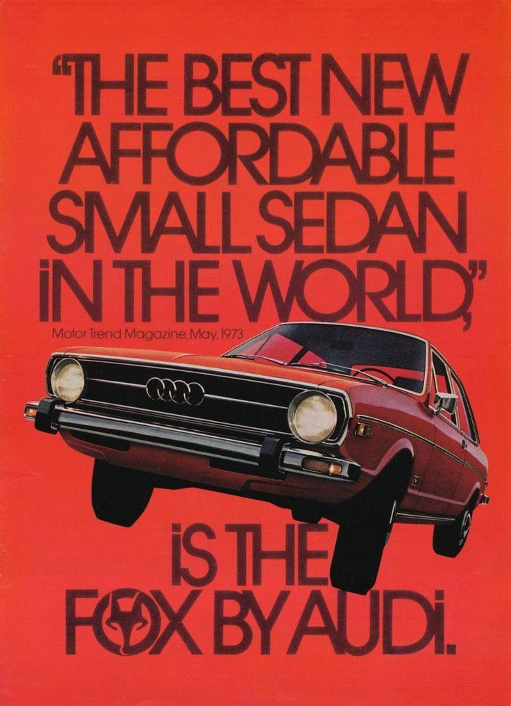 Audi Ads by Helmut Krone | Allan Peters' Blog