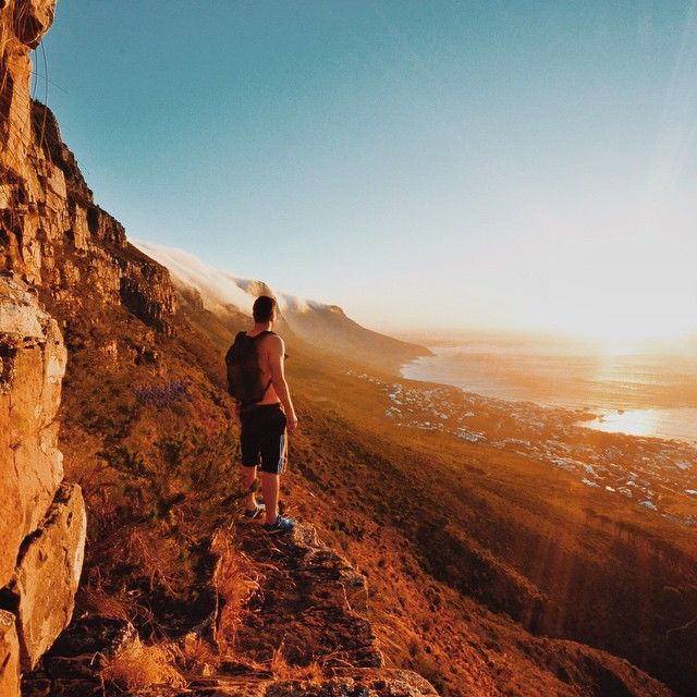 Cape Town, South Africa by IG user @craighowes