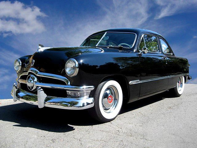 1950 Shoe Box Ford.  But I'd want it flat black or periwinkle blue!
