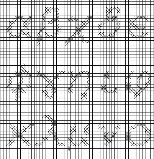 Greek Alphabet Embroidery letters