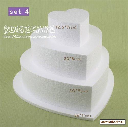 Виды многоярусных тортов