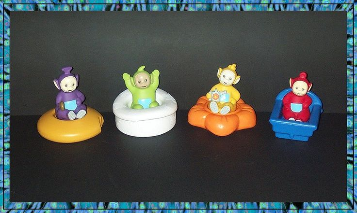 Playskool Quot Teletubbies Quot Bath Toys If I Had A Secret