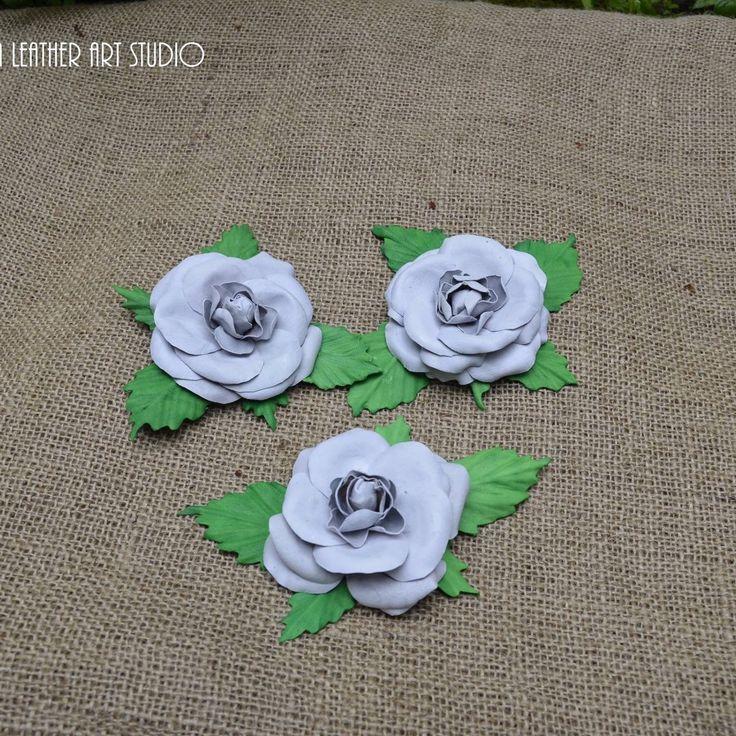 Leather Flower Brooches, Camellias.  Bridesmaids Leather Camellias. Leather jewelry. #kazakhshaleatherartstudio #bridesmaidsaccessories #bespoke #believeinyourself #special #beunique #summer2017 #camellias