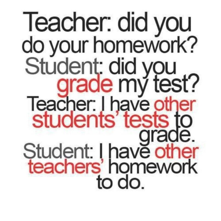 Teacher vs. Students. So doing this next time they ask.