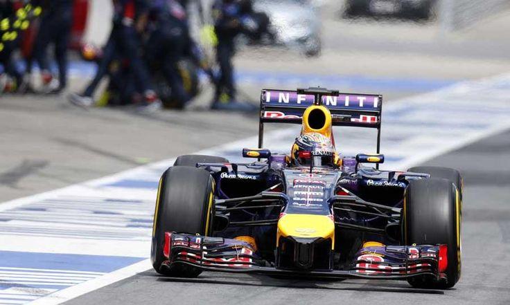 Dismal Formula One Austrian Grand Prix race adds to Red Bull's headaches.  Sebastian Vettel's engine broke-down on the opening lap of the Austrian Grand Prix.
