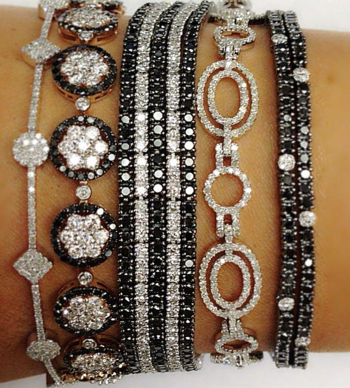 Black Diamond & White Diamond Bracelets http://astore.amazon.com/loveamazworl-20/search?node=79&keywords=diamond%20watch%20women&page=1