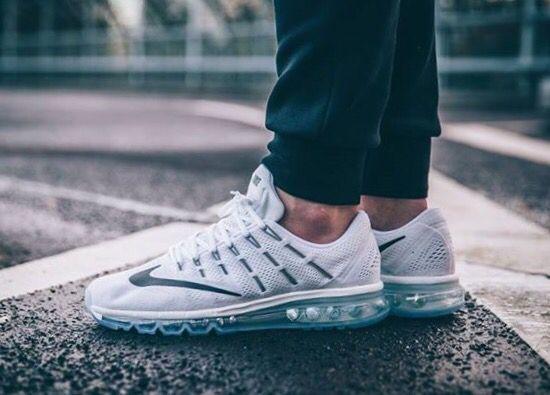 Nike Air Max 2016 White On Feet