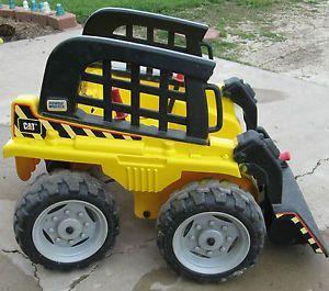 Fisher Price Power Wheels Cat Caterpillar Bobcat Skid ...