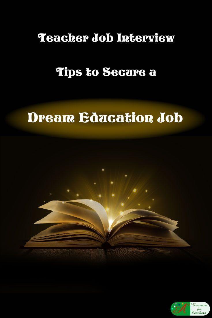 17 mejores ideas sobre prepare for interview en teacher job interview tips to secure a dream education job