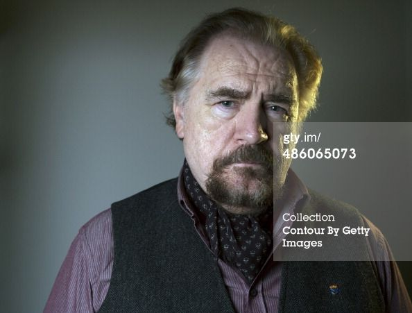 Actor Brian Cox is photographed for the Observer...
