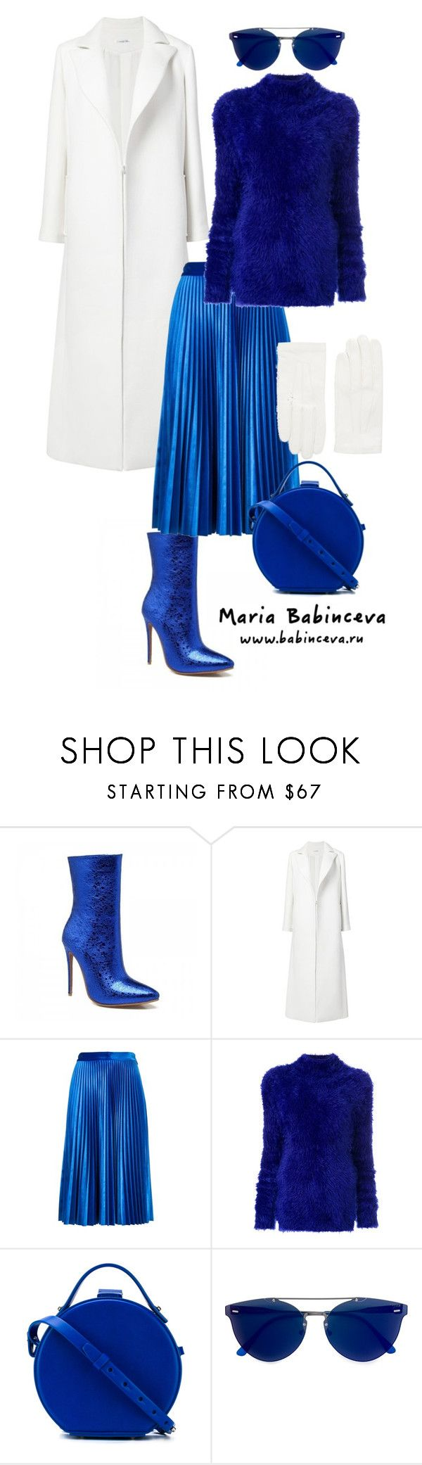"""Без названия #946"" by mariaalex-stylist ❤ liked on Polyvore featuring Oscar de la Renta, MSGM, Marni, Nico Giani, RetroSuperFuture and RED Valentino"