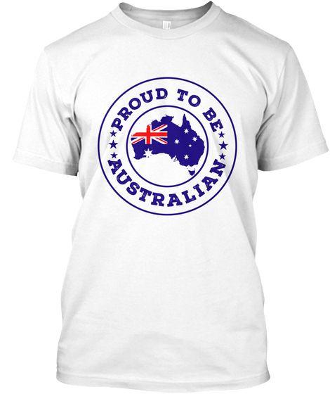 6e4087ea9 Australia Day T Shirts Kmart Australian White T-Shirt Front