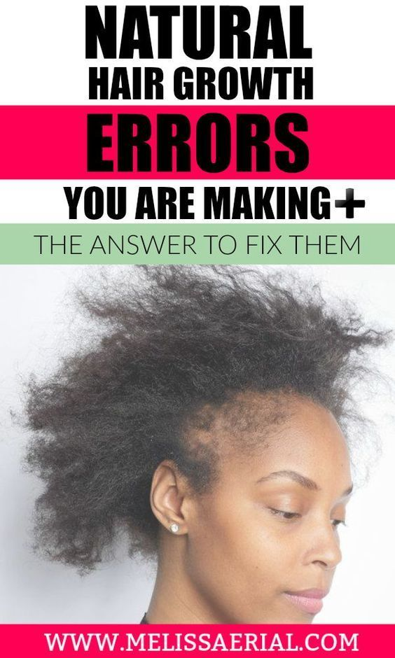 Are you making these common natural hair growth mistakes that will cost you inches of hair? You might want to know what they are do you stop making them and get your hair on a natural path to growth.