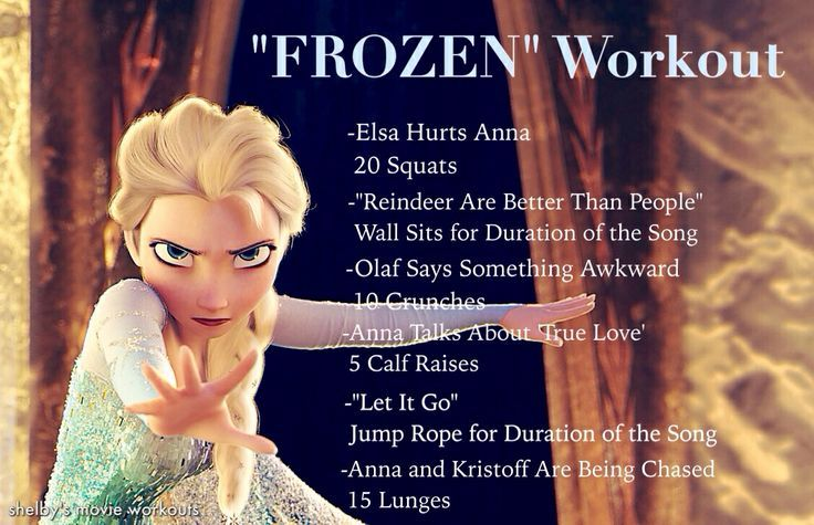 Disney Movie Workouts - Great use of time when your children want to watch them overrrr and overrr ;)