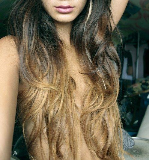 Hair  Ombre Hair  Beautiful  Long Hair Dos  Locks  Hair Makeup  HairOmbre Hair Brown To Blonde Back