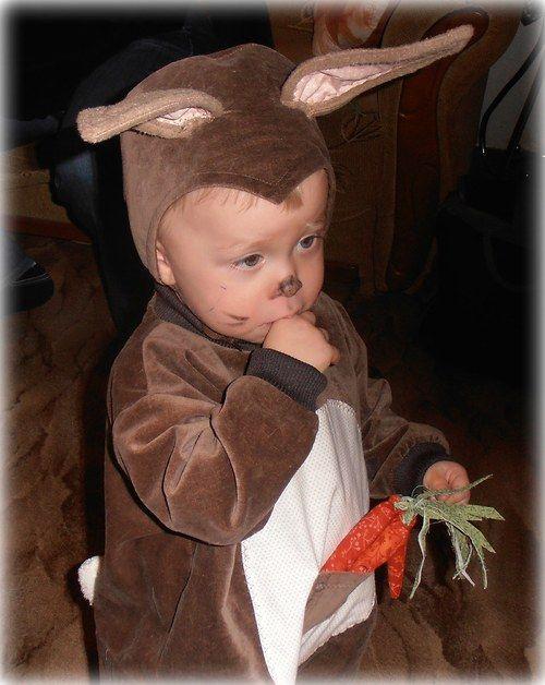 Kostým králíka na maškarní