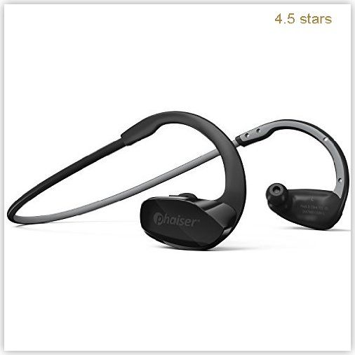 Phaiser BHS 530 Bluetooth Headphones Sweatproof