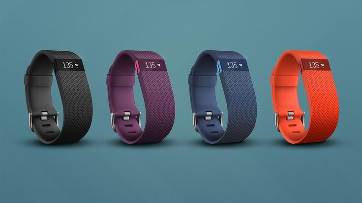 Fitbit Charge HR™ Wireless Heart Rate + Activity Wristband - in plum, great for keeping track of fitness and heart rate