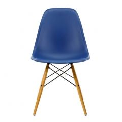 Eames DSW Chair Navy & Maple – New Height