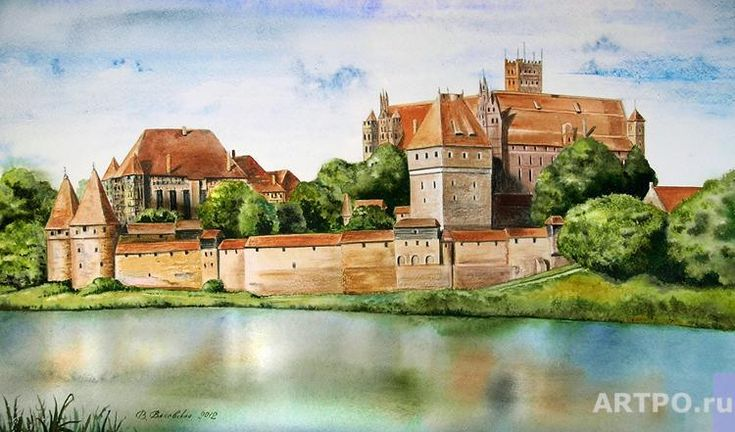 Marienburg Castle | Valevskaya Valentina | ARTPO: art for sale ...