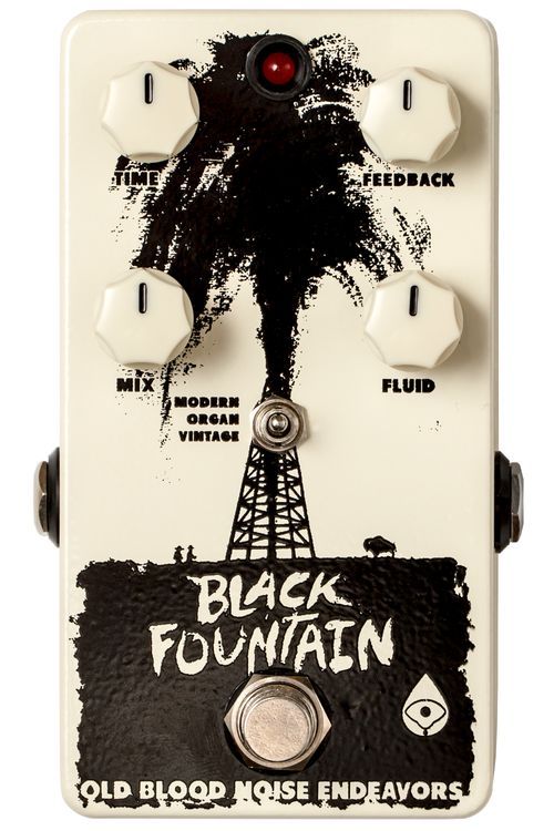 Old Blood Noise Endeavors – Black Fountain Delay | Effects Bay