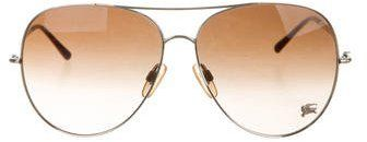 Burberry Oversize Aviator Sunglasses
