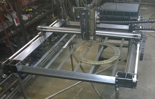 Picture of CNC Plasma Table