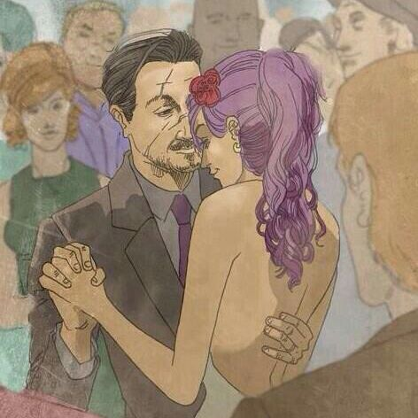 Harry&Ginny or Ron&Hermione?<<<<REMUS AND TONKS!!!!!!