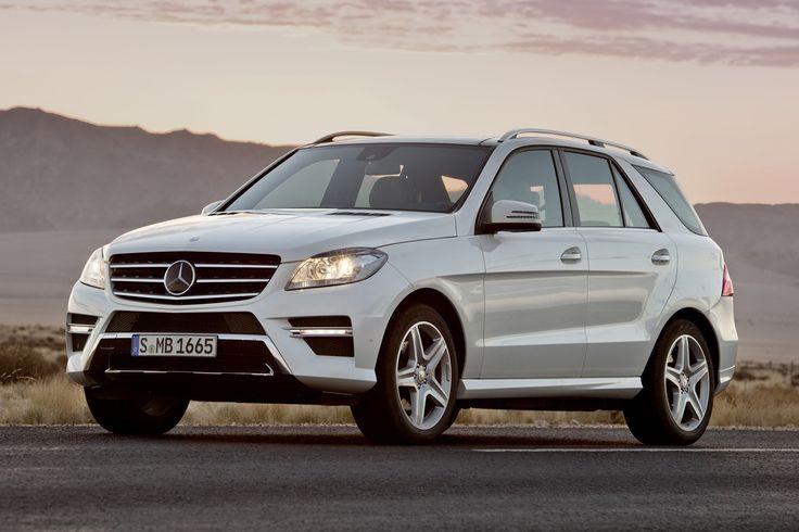 camionetas mercedes benz de lado   Mercedes Benz presenta oficialmente el Clase M