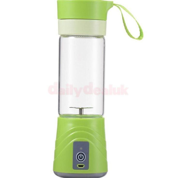 Electric Juicer Mini Blender Fruit Extractor Squeezer Diy Green Home Gift
