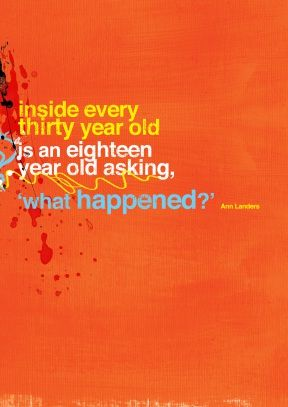 Inside Every 30 Year Old | Greeting Card from scribbler.com