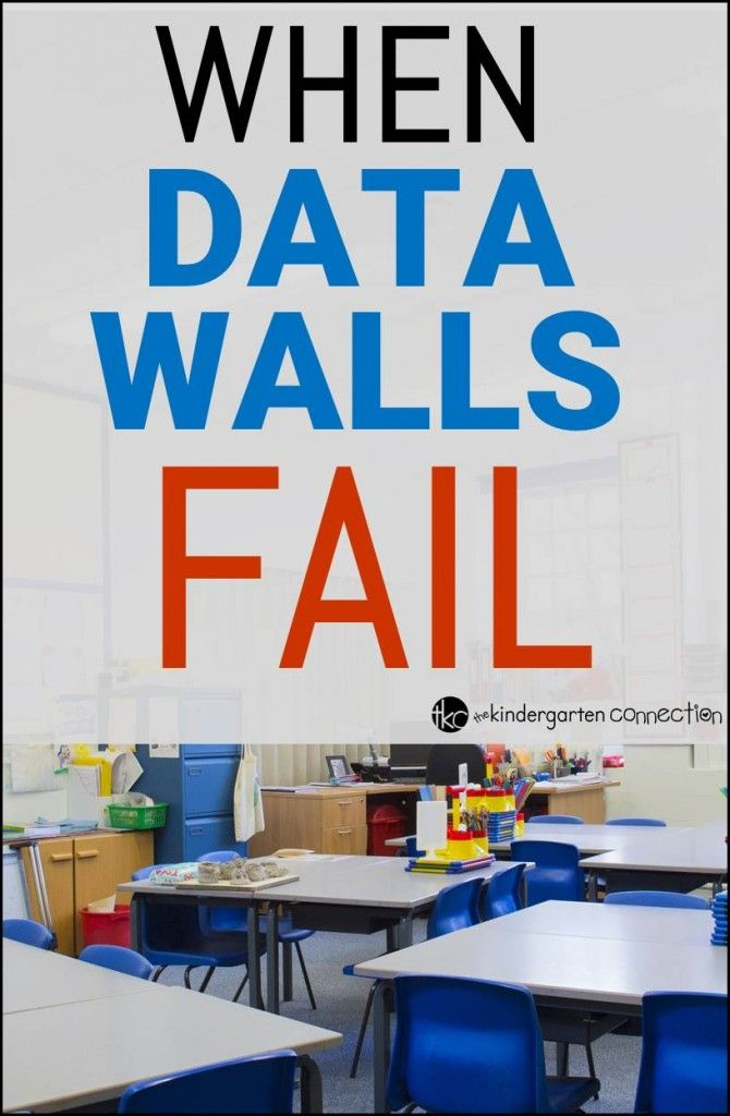 When Data Walls Fail - The Kindergarten Connection