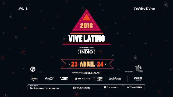Presentación Cartel oficial Vive Latino 2016