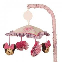 Mini mouse mobile for crib minnie mouse butterfly dreams musical mobile grand baby - Minnie mouse mobel ...