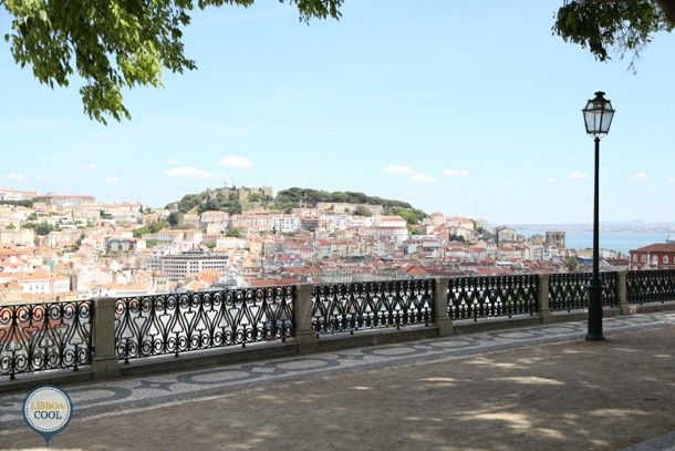 Lisboa Cool -  Miradouro de São Pedro de Alcântara