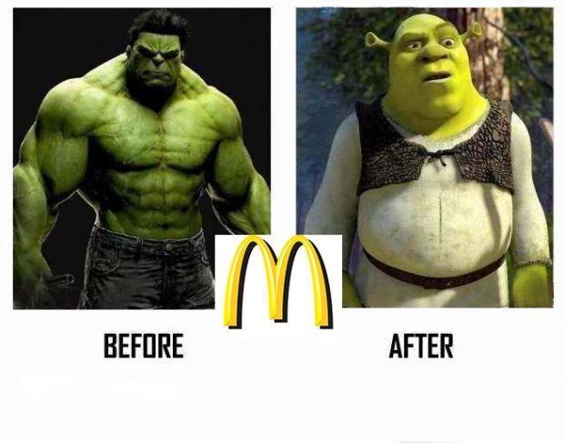 mcdonald's evolution theory | 2012 | Funny Pinoy Jokes ATBP