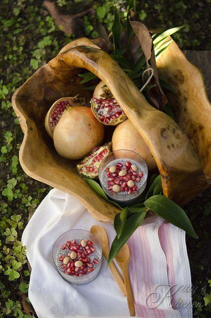 pudding sei di chia e melograno by Elisakitty's Kitchen, via Flickr