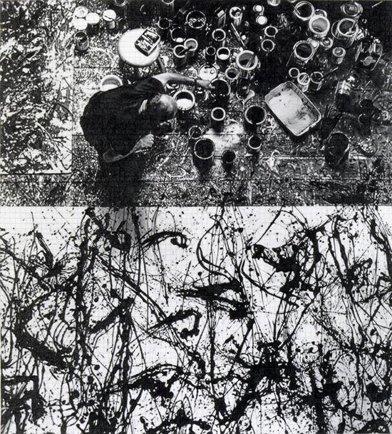 Dan Fischer Jackson Pollock in Studio, 2009-2012 graphite on paper 22 x 20 inches