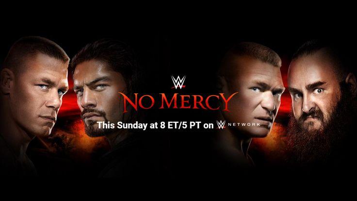 WWE No Mercy 2017 Resultados de partidos en Vivo Actualizaciones